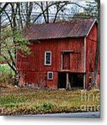 Barn - Seen Better Days Metal Print