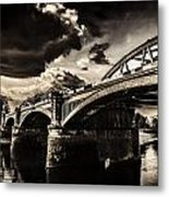Barnes Rail Bridge Metal Print