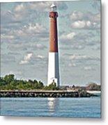 Barngat Lighthouse - Long Beach Island Nj Metal Print