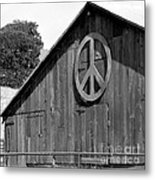 Barns For Peace Metal Print
