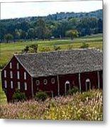 Barns Of Gettysburg 1a Metal Print