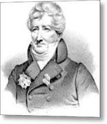 Baron Georges Cuvier (1769-1832) Metal Print
