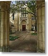 Baroque Architecture Metal Print by Mamie Thornbrue