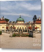 Baroque Landmark - Buchlovice Castle Metal Print