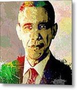 Barrack Obama Metal Print