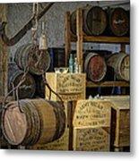 Barrels Metal Print by James Barber