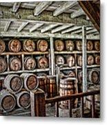 Barrels Metal Print
