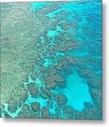 Barrier Reef Metal Print