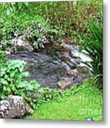 Barriles Small Stream Metal Print