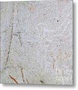 Barriles Stone Carving Metal Print