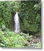 Barriles Waterfall Metal Print