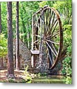 Berry College's Old Mill - Square Metal Print