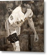 Barry Zito - Redemption Metal Print