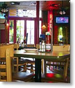 Bartime Metal Print by Kenneth Feliciano