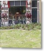 Bartok Park In The Center Of Arnhem Metal Print