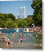 Barton Springs Pool Metal Print