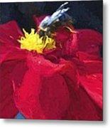 Bartram Bee Metal Print