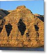 Basalt Group Layers Metal Print