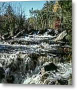 Base Of Ragged Falls Metal Print