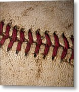 Baseball - America's Pastime Metal Print