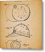 Baseball Cap Patent 1955 Metal Print