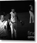 Baseball Days Metal Print