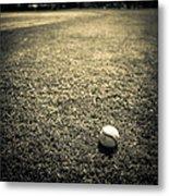 Baseball Field 3 Metal Print