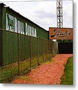 Baseball Field Bull Durham Sign Metal Print