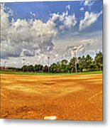 Baseball Field Metal Print