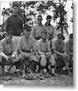 Baseball Team, 1938 Metal Print by Granger