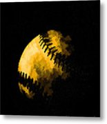 Baseball The American Pastime Metal Print