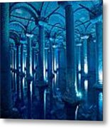 Basilica Cistern - Istanbul - Turkey Metal Print