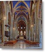 Basilica Di Santa Maria Sopra Minerva Metal Print