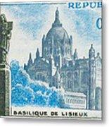 Basilica Lisieux Metal Print