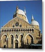 Basilica Of Saint Anthony Of Padua Metal Print