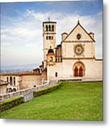 Basilica Of Saint Francis Metal Print