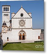 Basilica Of St. Francis Of Assisi Metal Print