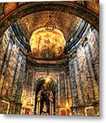 Basilica Parroquial Metal Print