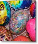 Basket Case Metal Print
