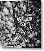 Basketball Heaven Metal Print