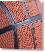 Basketball Study 4 Metal Print