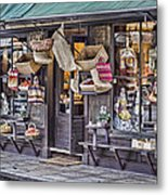 Baskets For Sale Metal Print by Heather Applegate