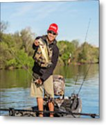Bass Caught In Austin Texas Metal Print