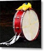 Bass Drum At Parade Metal Print