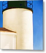 Bass Harbor Head Lighthouse Maine Metal Print