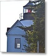Bass Harbor Headlight Metal Print