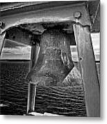 Bass Head Lighthouse Bell Metal Print