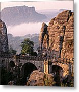 Bastei, Saxonian Switzerland National Metal Print