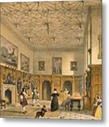 Bat Game In The Grand Hall, Parham Metal Print
