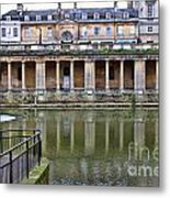 Bath Markets 8504 Metal Print